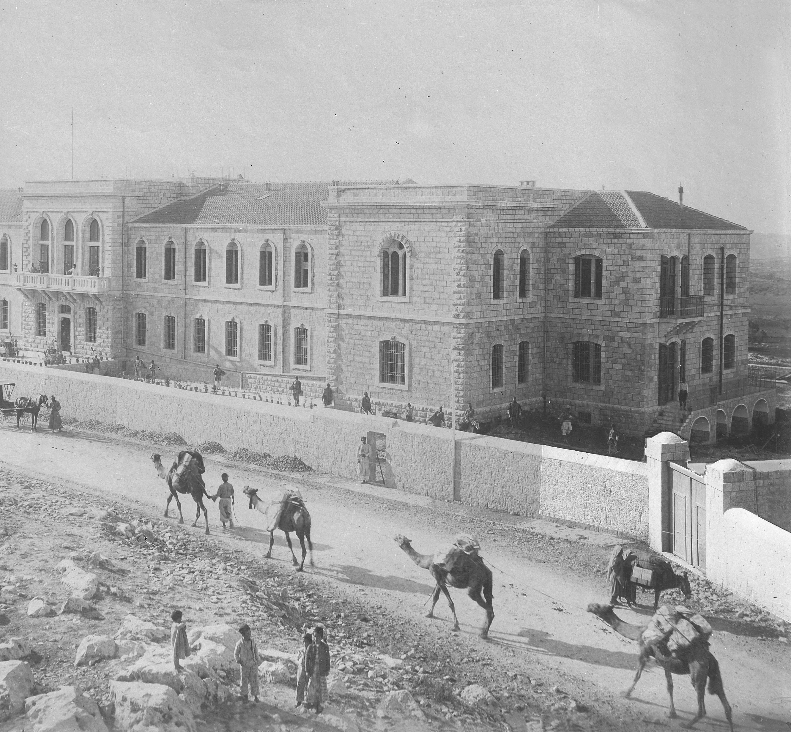 Shaare Zedek - the original building
